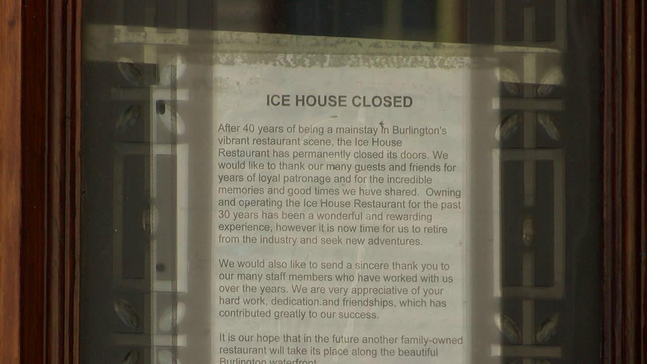 Ice House restaurant closed 1