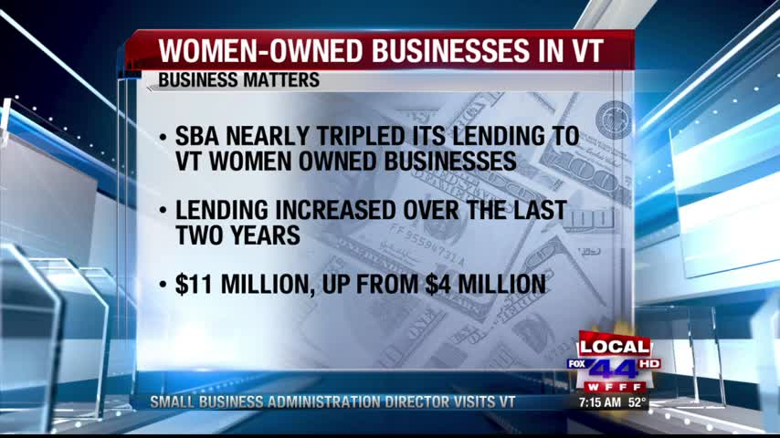 Small Business Administration Director Visits Vermont