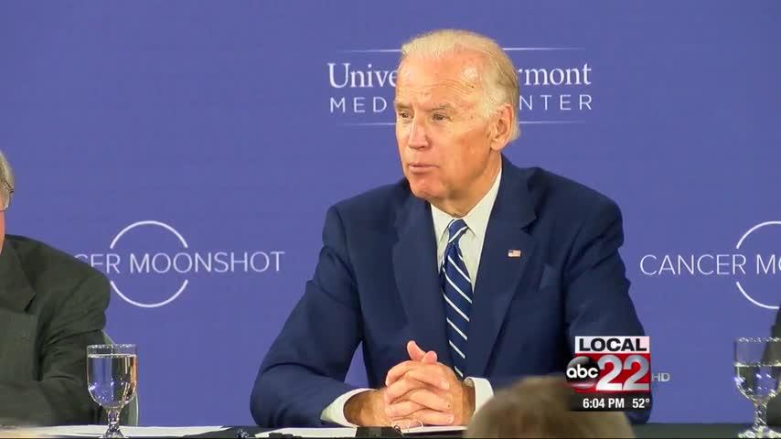 Biden Talks Cancer Research at UVM_21947290-159532