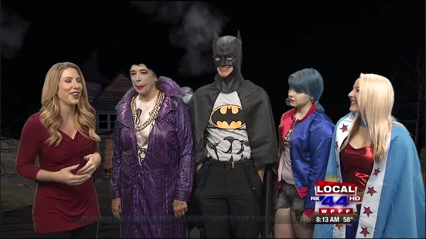 Rubber Bubbles Superhero Costumes