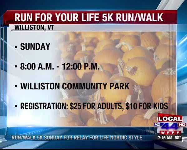 Run For Your Life 5K
