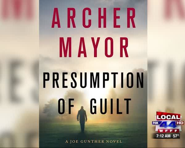 VT Author Archer Mayor Releases 27th Gunther Novel
