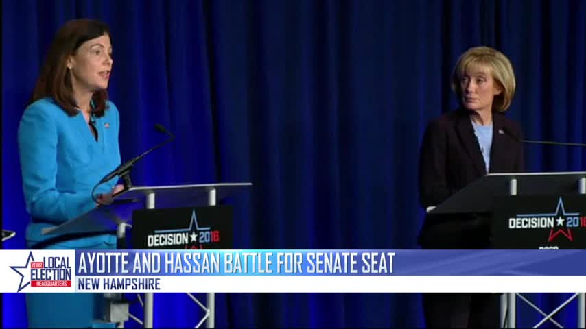Ayotte and Hassan Battle for Senate Seat_04913816-159532