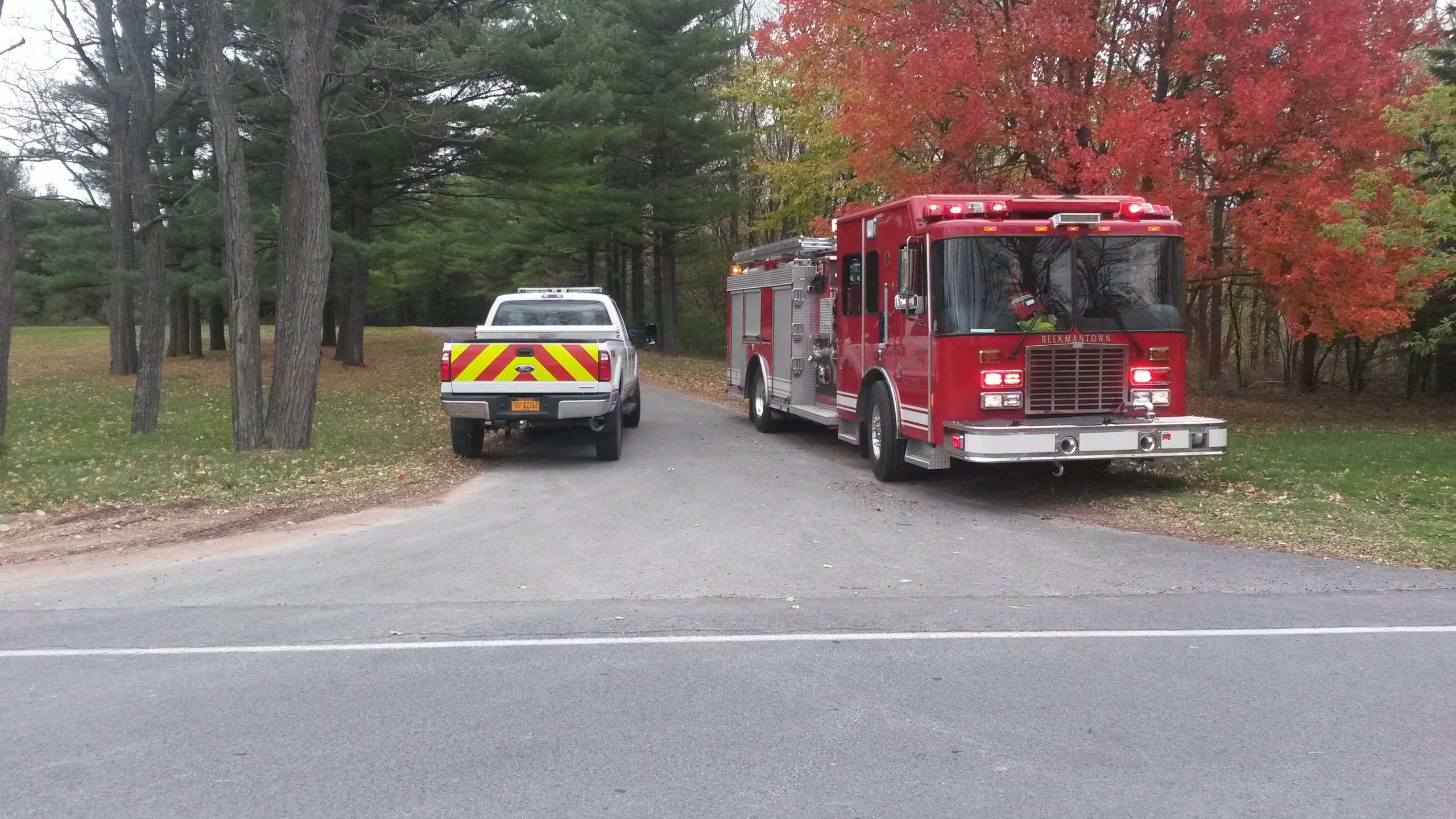 New York: Structure Fire in Cumberland Head