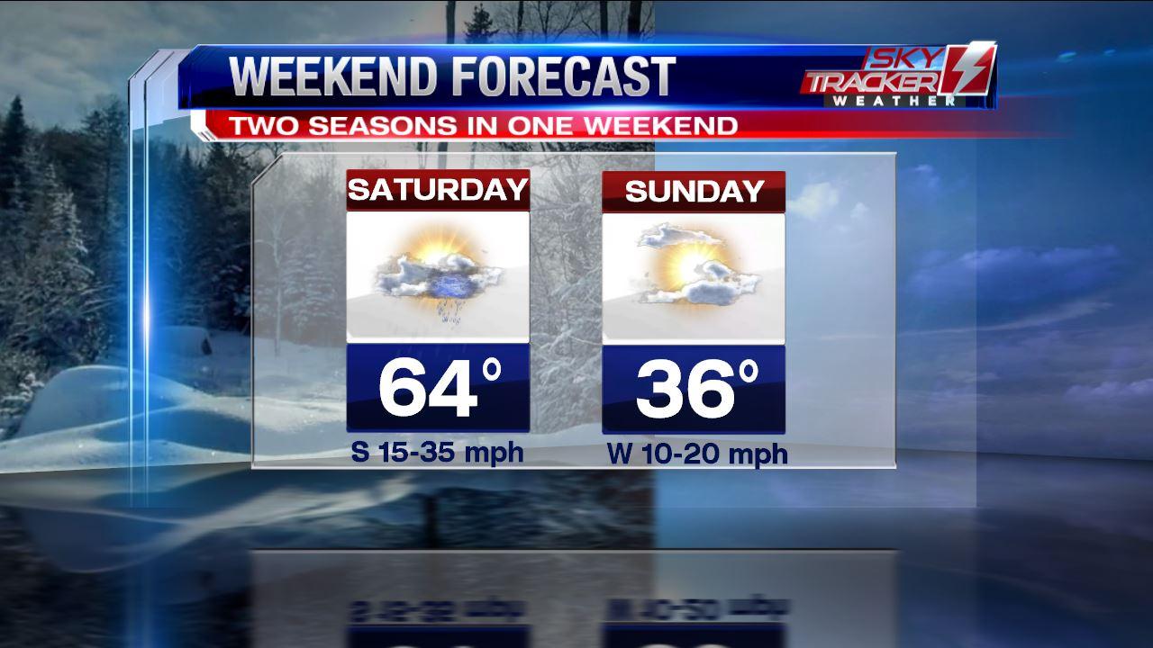 2 Seasons In One Weekend