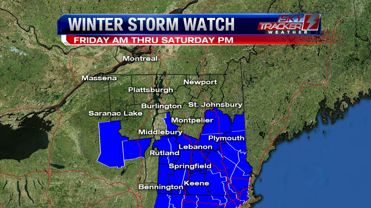 Winter Storm Watch March 31 and April 1 2017