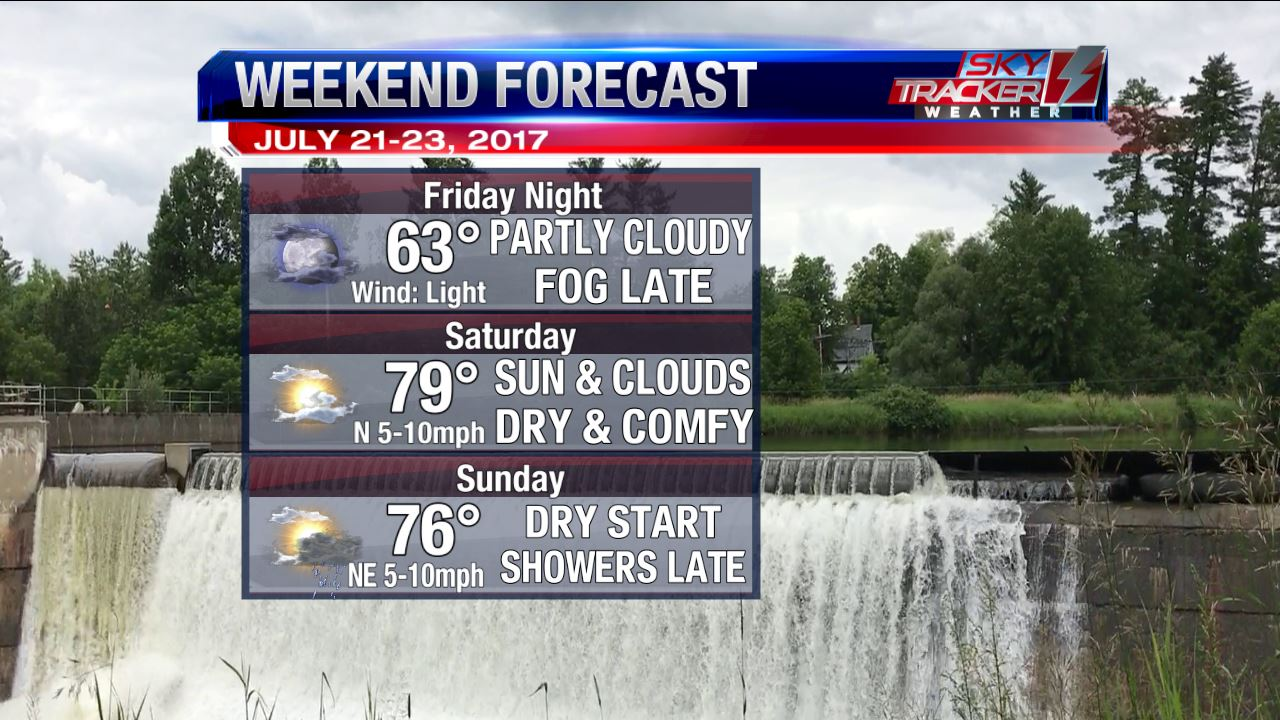Weekend Planner July 21 to July 23 2017