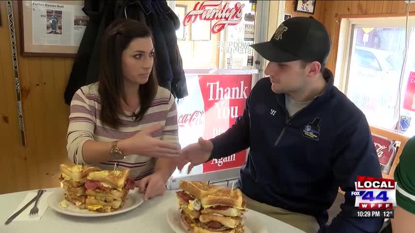 Darin' Erin: Chuck Norris Sandwich at Handy's Lunch