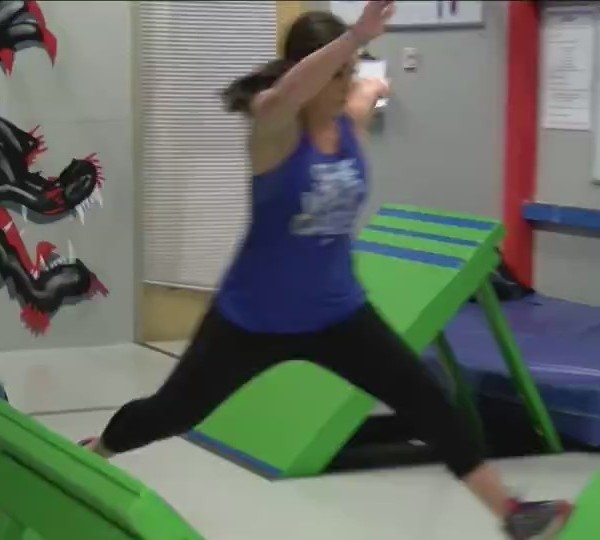 Darin' Erin Vermont Warrior Challenge
