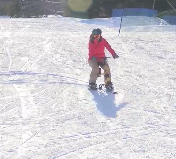 Darin' Erin: Ski Bikes