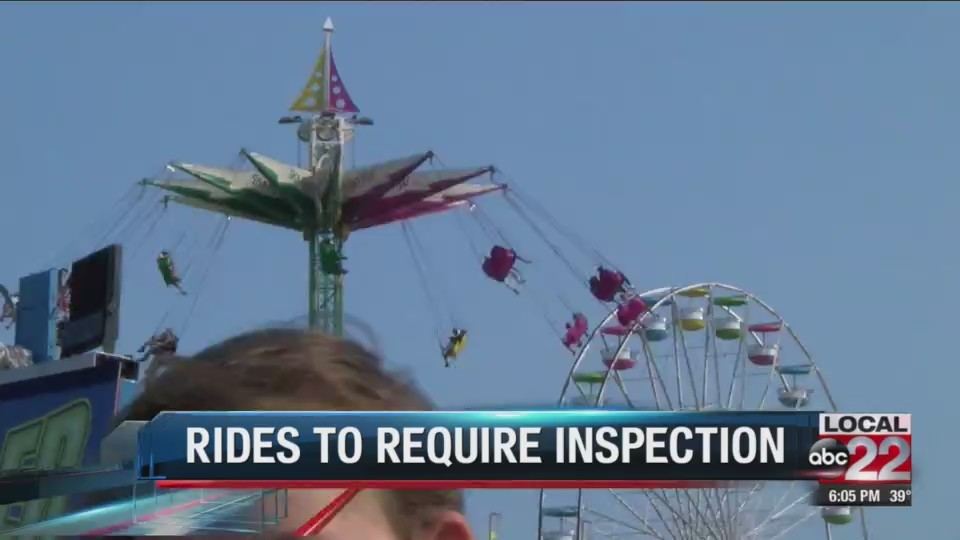 Bill requiring amusement ride inspection passes the House