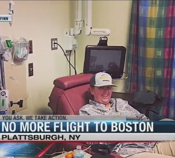 No more flights from Plattsburgh to Boston