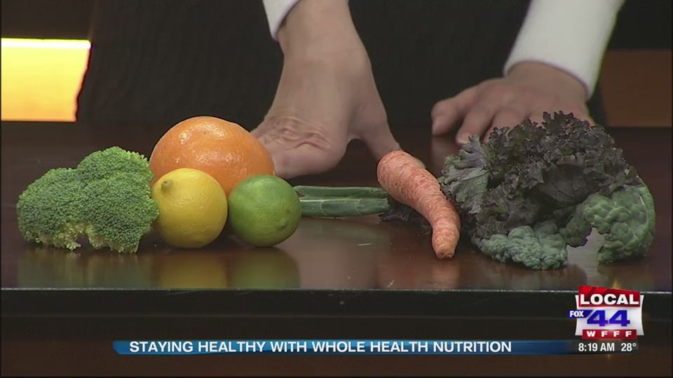 Whole Health Nutrition with tips to stay healthy