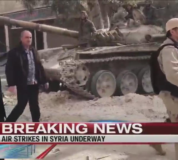 Lawmakers in our region react to Syria air stikes