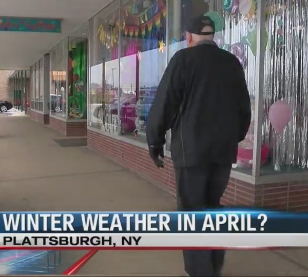 North Country impacted by winter weather in April
