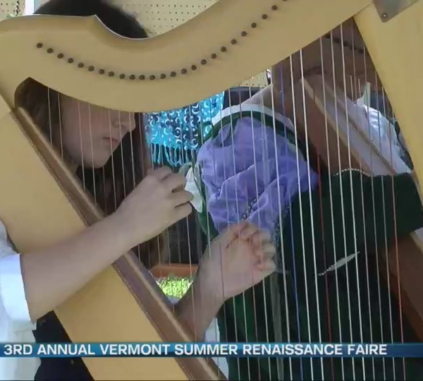 Getting ready for the 3rd annual Vermont Summer Renaissance Faire