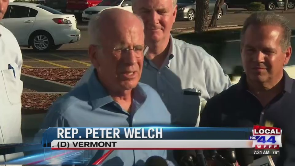 Peter Welch at southern border