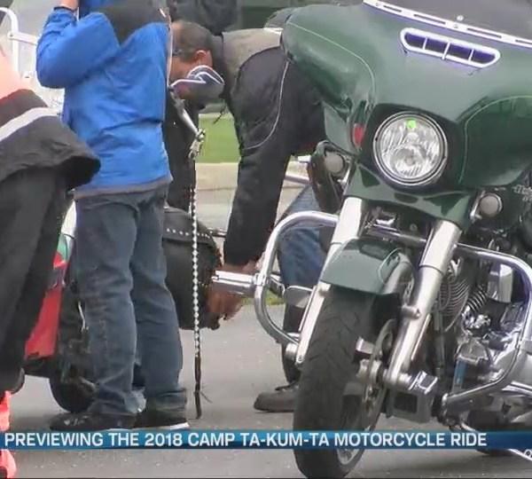 Camp Ta-Kum-Ta Motorcycle Ride