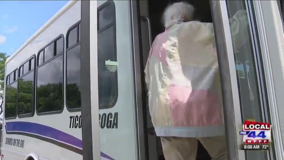 Ti Area Seniors get a new bus