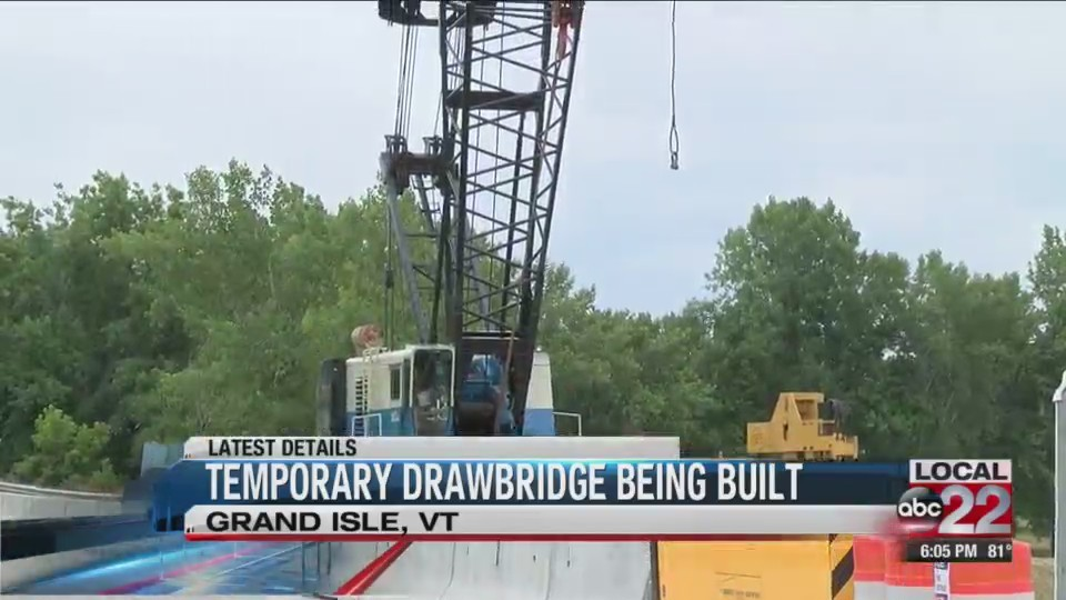 Update on North Hero-Grand Isle drawbridge