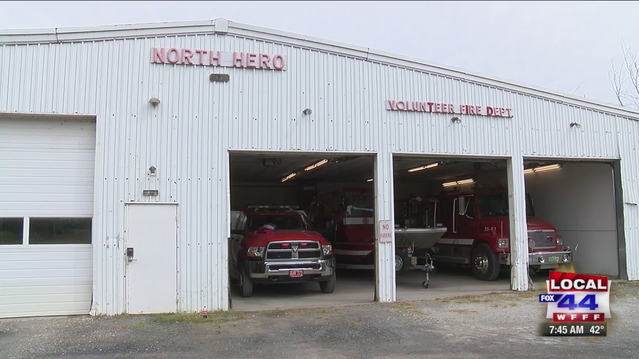 Friday's Fearless: North Hero Fire Department