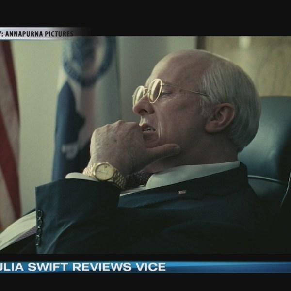 Movie Critic Julia Swift reviews 'VICE.'
