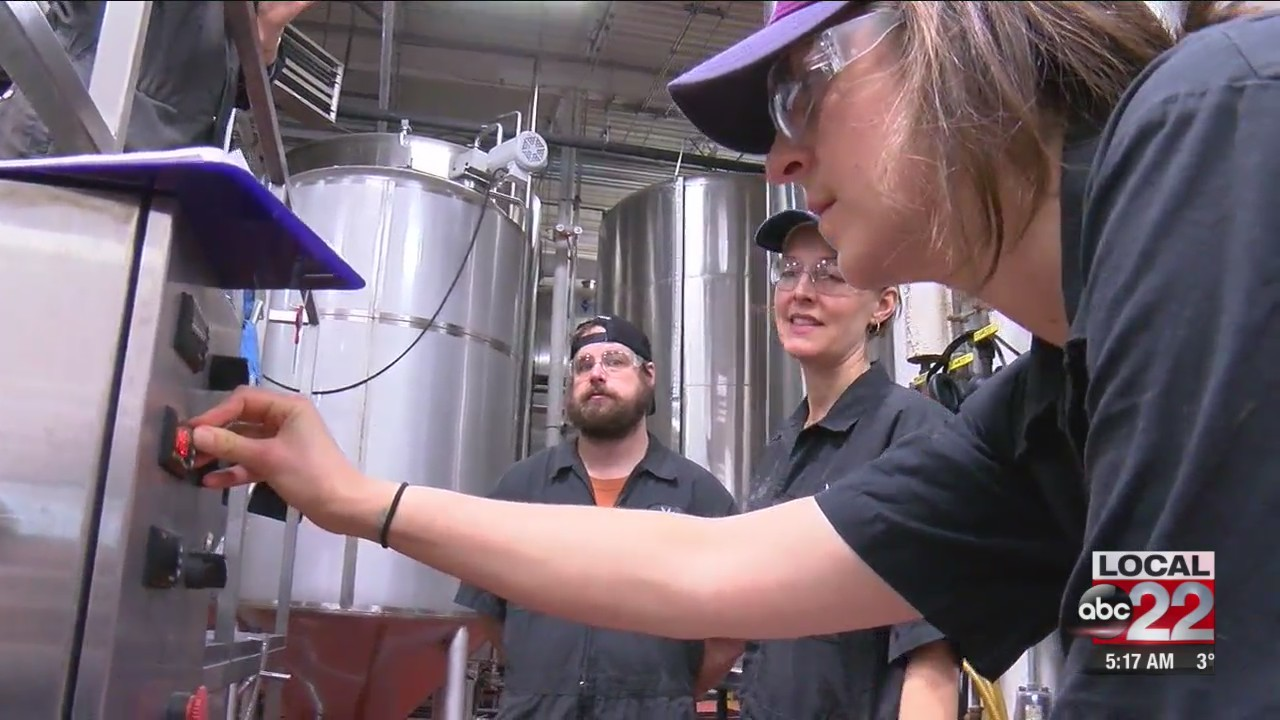 Crafting 'Girl Power' at Magic Hat Brewery