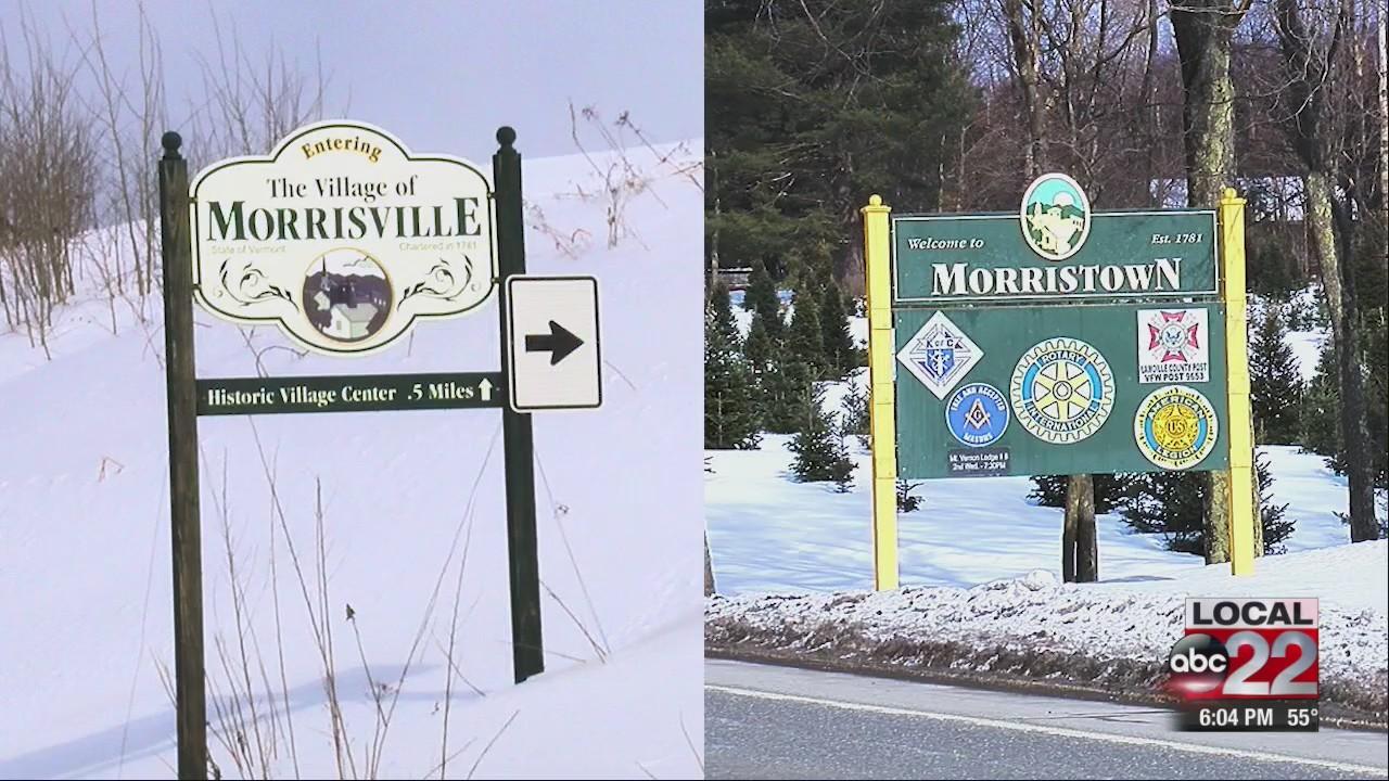 Morristown or Morrisville?