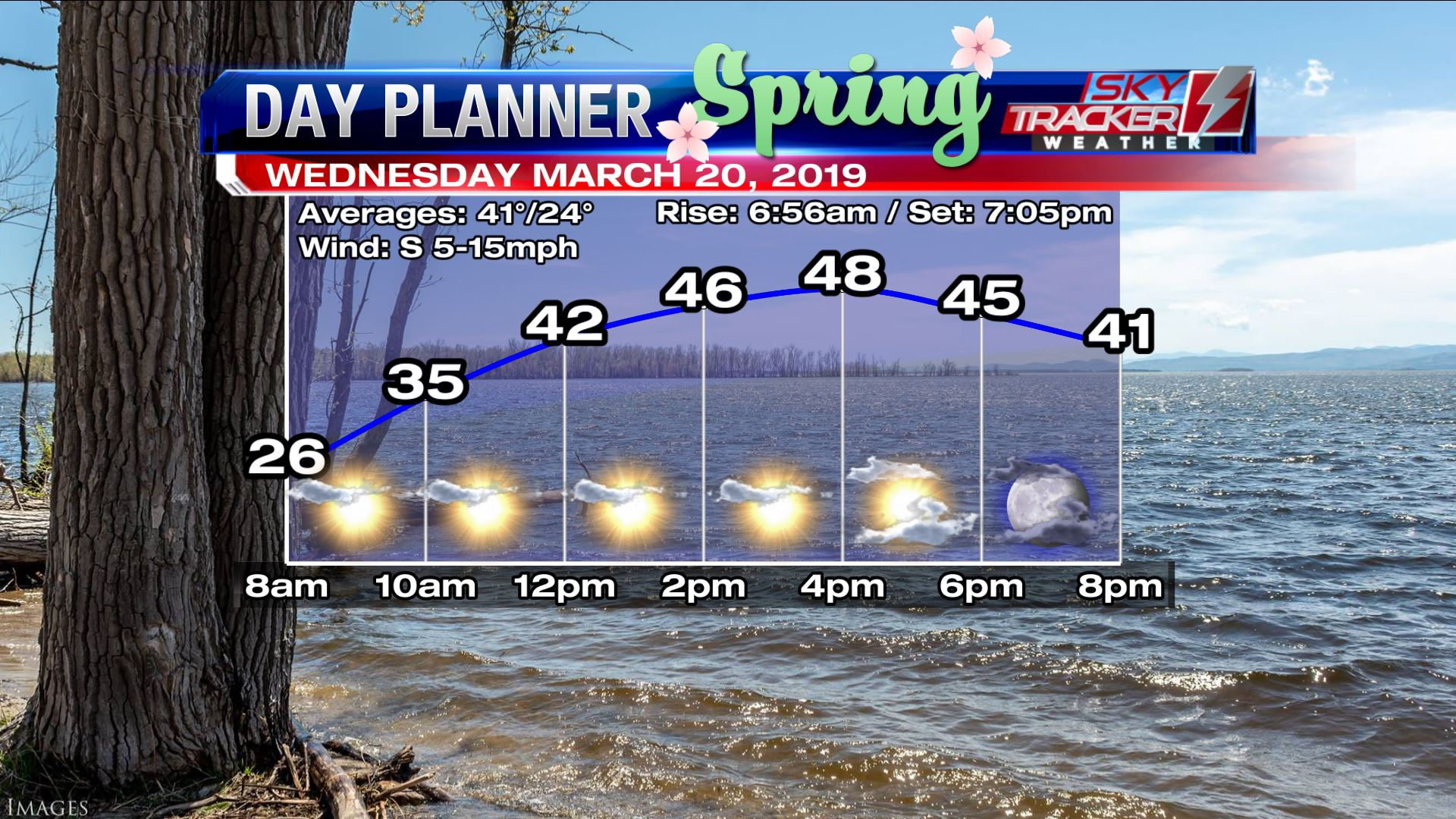 Planner for Wednesday March 20 2019