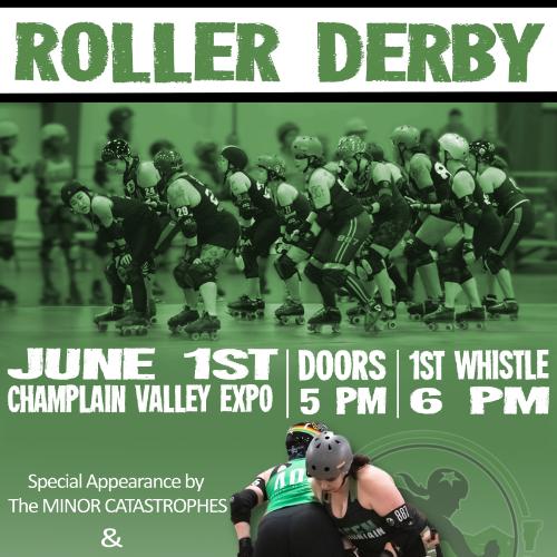 Green Mountain Roller Derby Facebook