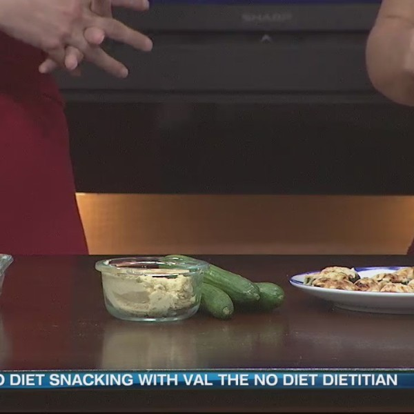 Healthy Snacks with 'Val The No Diet Dietitian.'