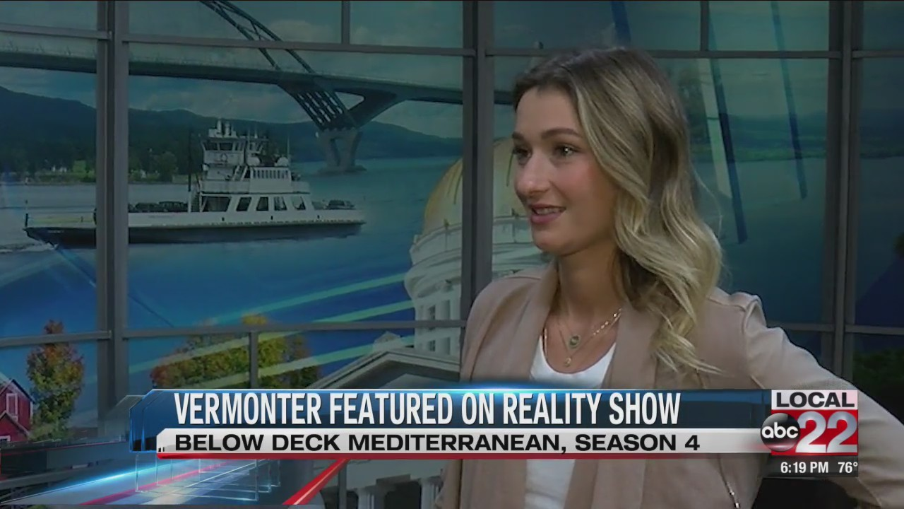 Vermonter describes her time on 'Below Deck Mediterranean'