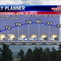 Planner for Wednesday June 19 2019