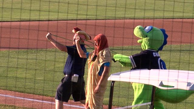 Lake Monsters take down Batavia on Hot Dog Hysteria night