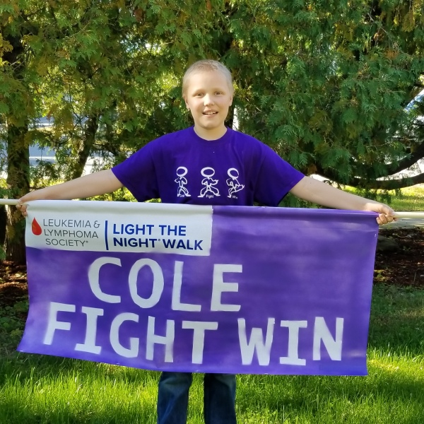 """The Leukemia & Lymphoma Society is holding an annual fundraising walk called """"Light The Night"""" this fall."""