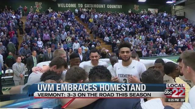 UVM hoops embraces homestand