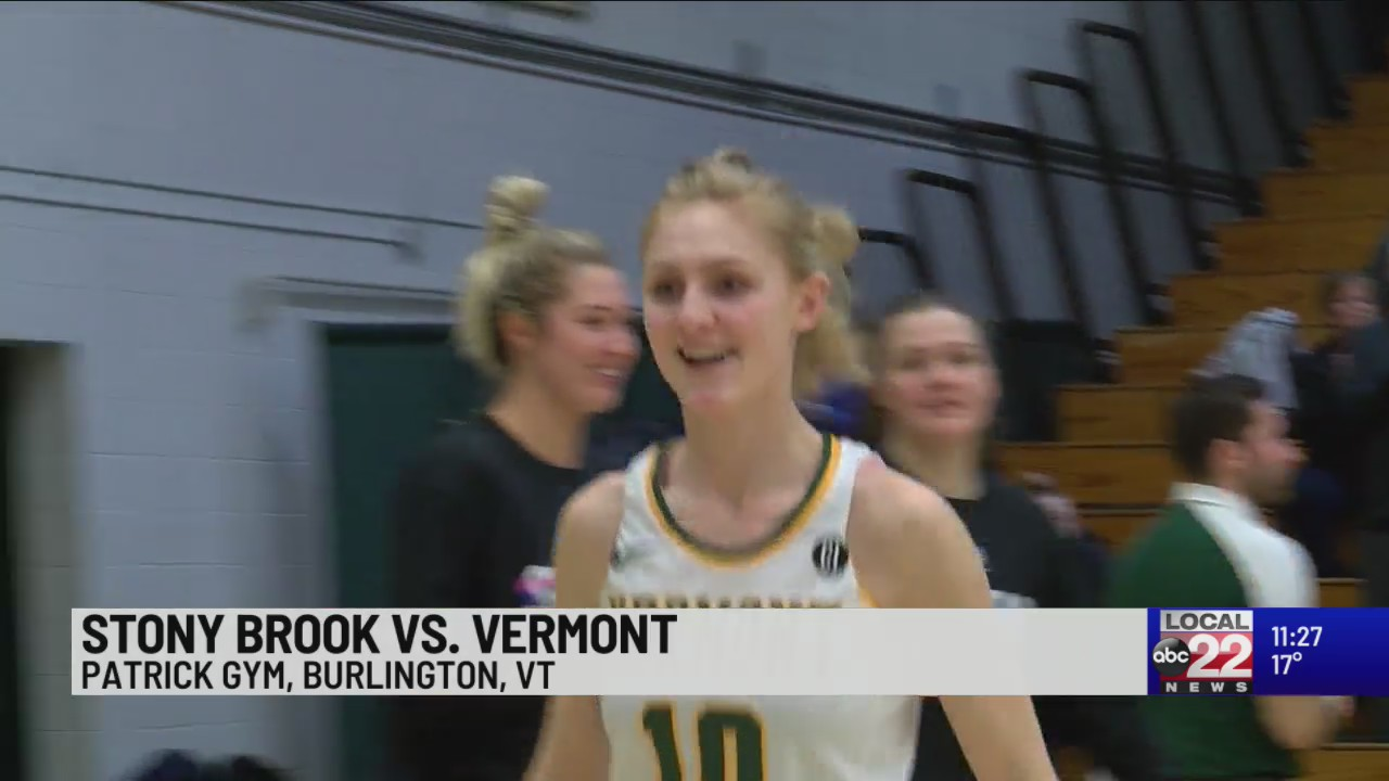 Stony Brook women's hoops takes down Vermont in close battle
