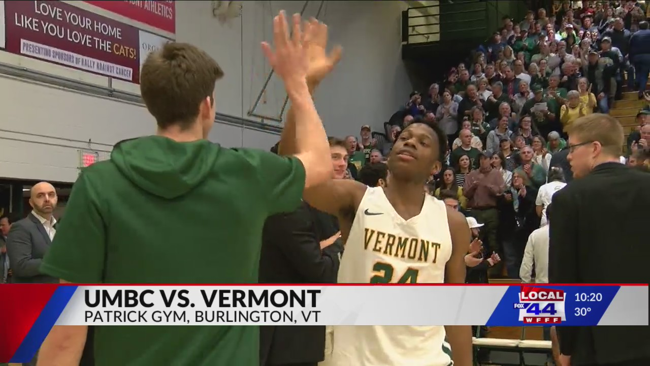 Vermont men's hoops win streak snapped by UMBC Saturday night