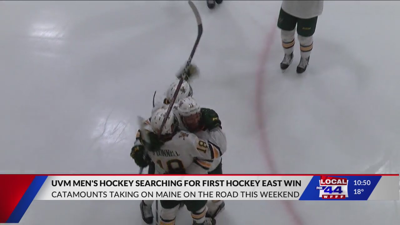 Vermont men's hockey gears up for Maine series