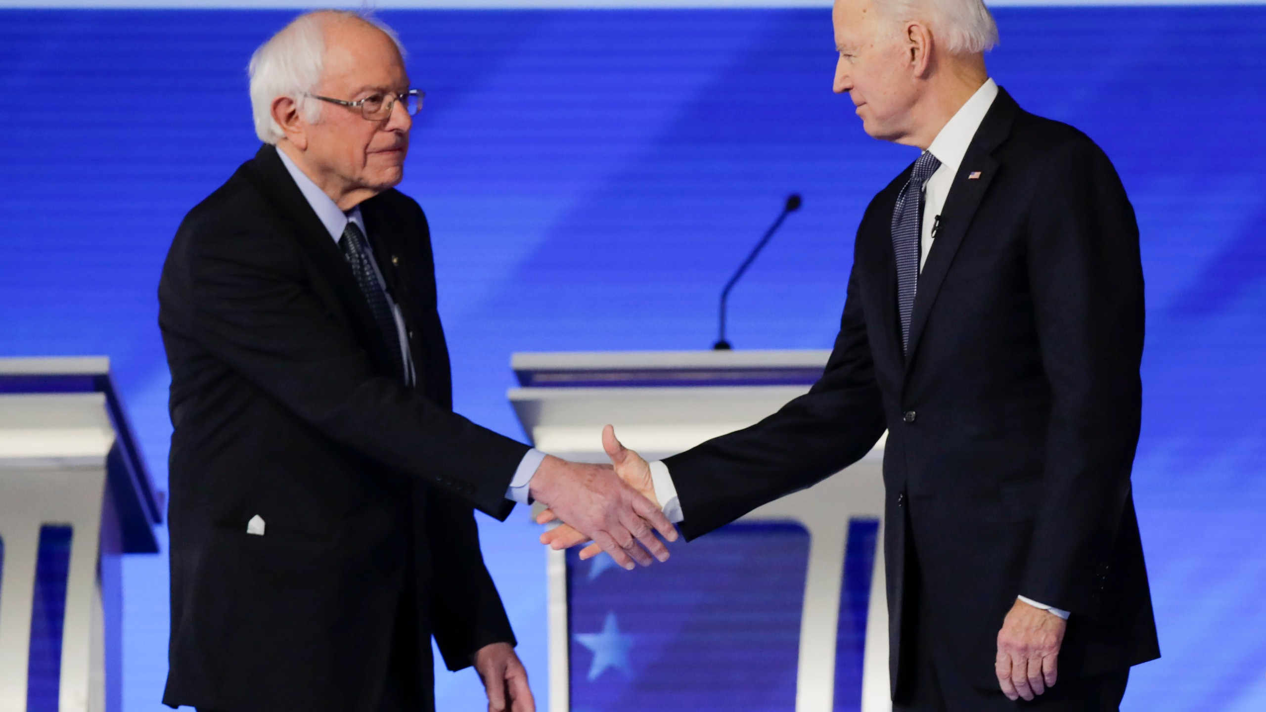 Bernie Sanders, Joe Biden