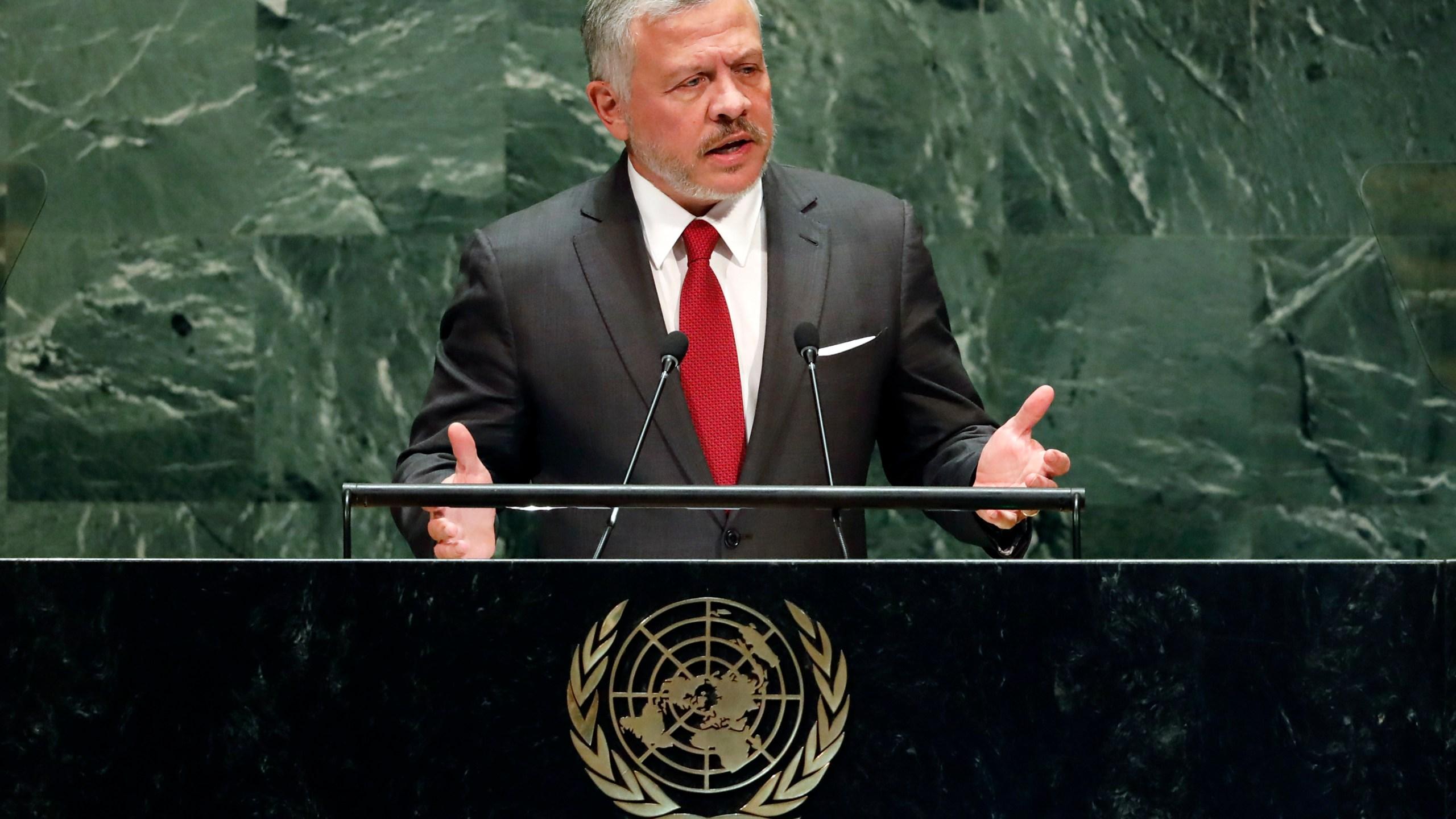 King Abdullah II ibn Al Hussein