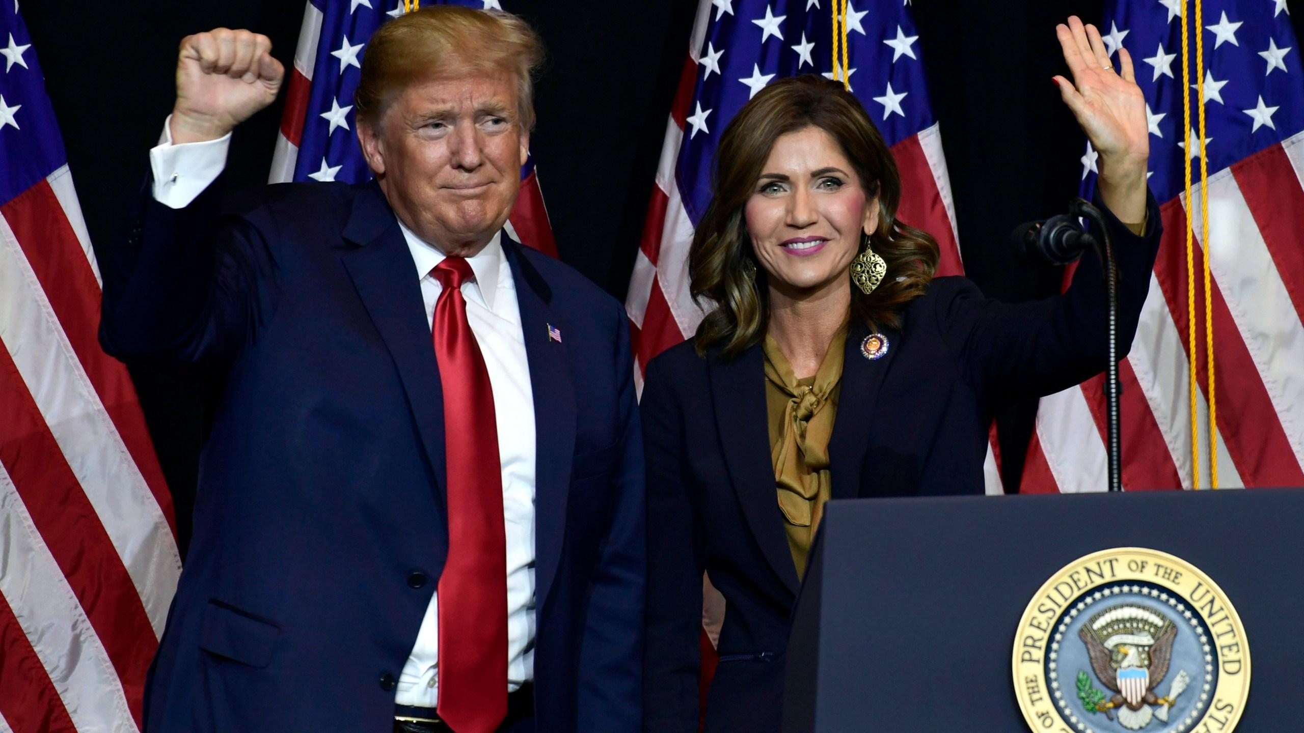 Donald Trump, Kristi Noem