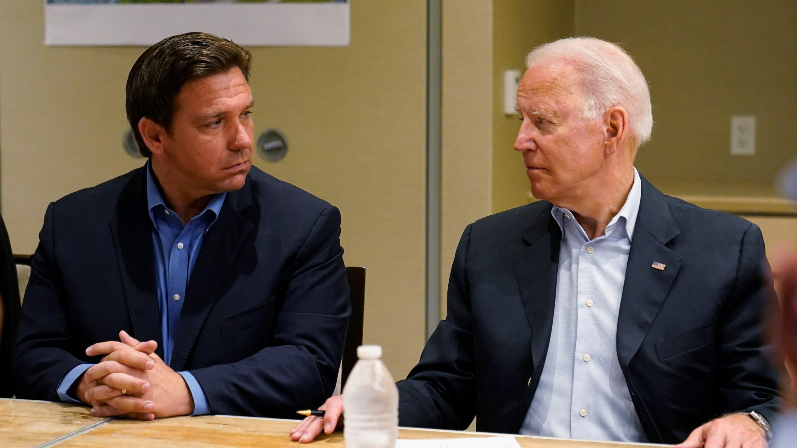 Joe Biden, Ron DeSantis